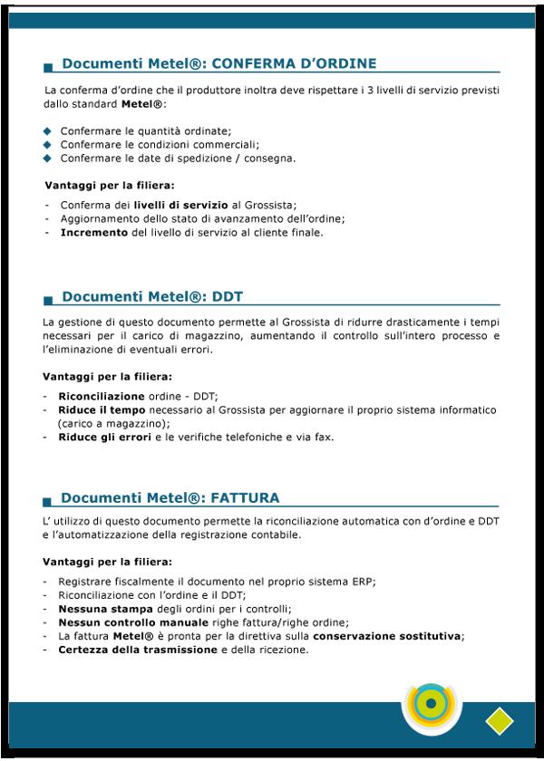 Progetto grafico catalogo servizi Metel - Anno 2007 - pagina 05