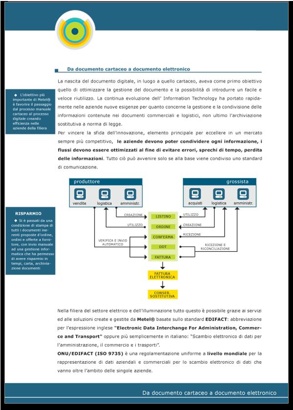 Progetto grafico Brochure Metel Istituzionale - Pagina 03