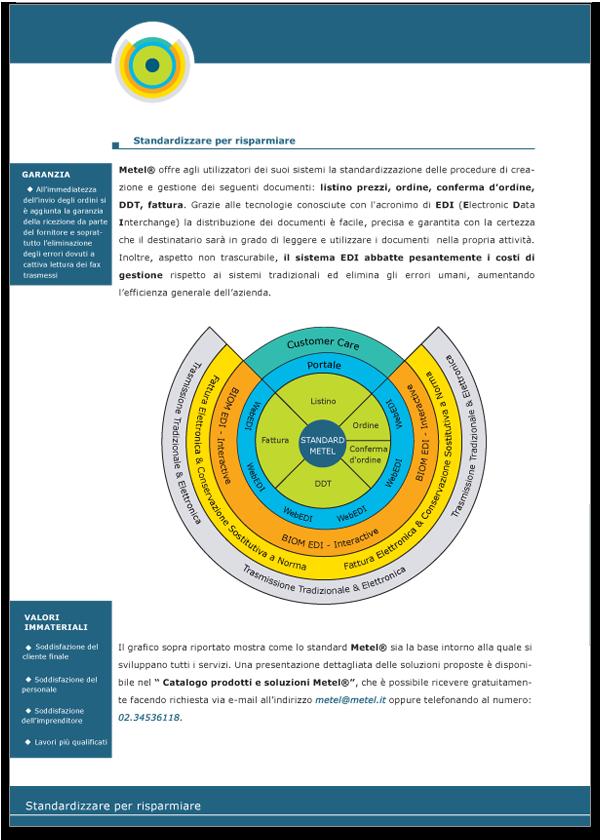 Progetto grafico Brochure Metel Istituzionale - Pagina 04