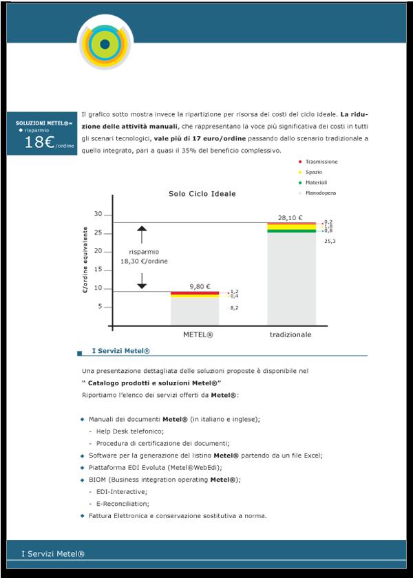 Progetto grafico Brochure Metel Istituzionale - Pagina 06