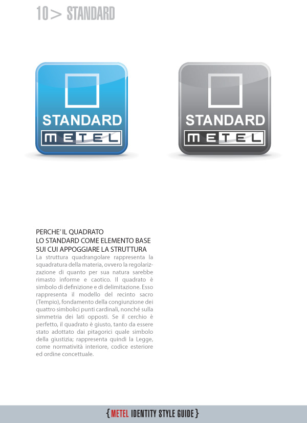 Metel Identity Style Guide - Logotipo standard