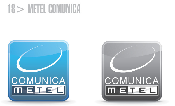 Metel Identity Style Guide - logotipo metel comunica