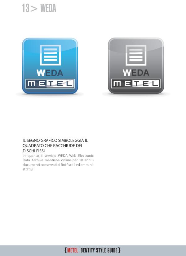 Metel Identity Style Guide - logotipo weda