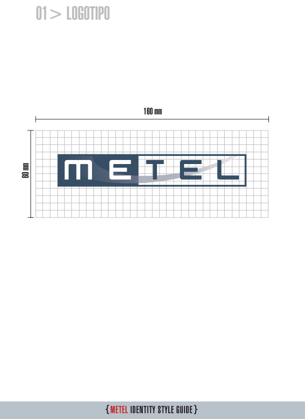 Metel Identity Style Guide - Logotipo