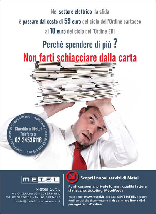 2010-11-08 Pagina pubblicitaria per Commercio Elettrico.ai