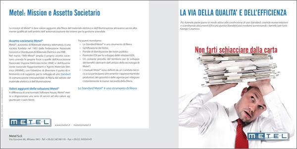 2011-01-24 Metel - Brochure istituzionale - bianca