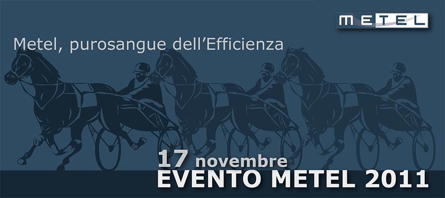 Progetto Grafico Pagina Pubblicitaria Invito Evento Metel 2011