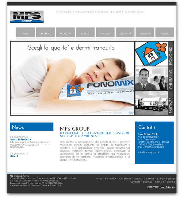 Layout Home Page