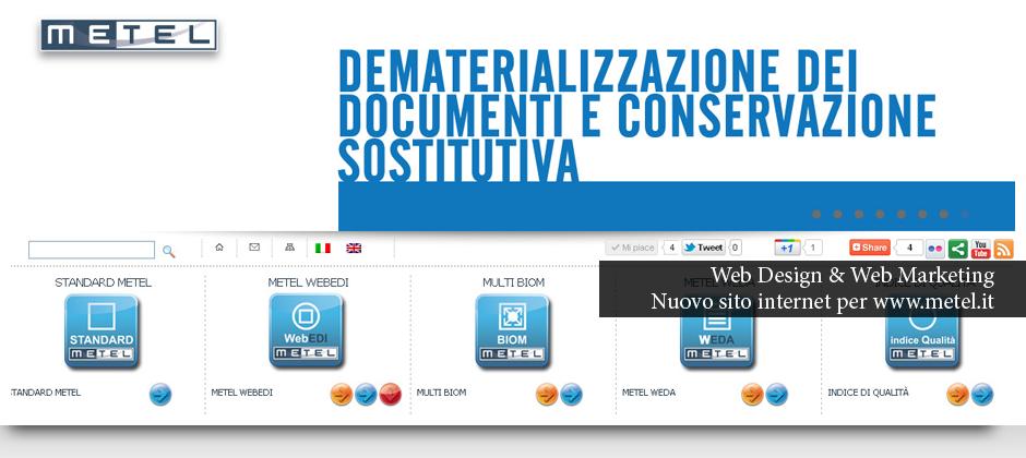 Immagine Slide Show Nuovo Sito Internet Per Metel