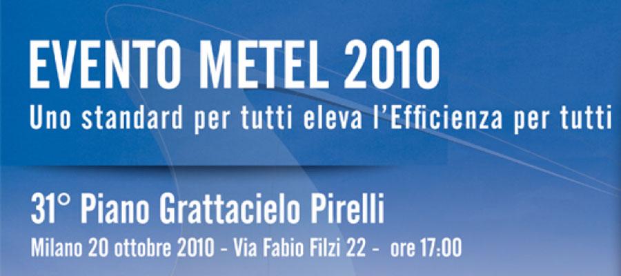 2014 10 20 Idee E Soluzioni Organizzazione Evento Metel 2010