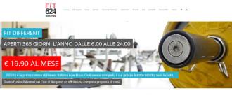 Sito Internet Settore Fitness Www.fit624-bergamo.it