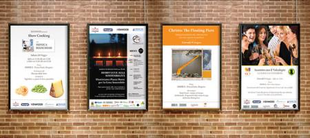 Piccoli Mezzi Per Grandi Risultati: Progetto Materiale Grafico Per Eventi Di Domus Alta Qualità