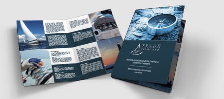 Realizzazione Progetto Grafico Brochure Trade Compass