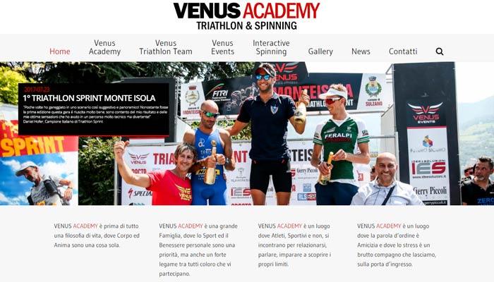 Idee E Soluzioni Realizza Il Sito Settore Fitness Per Venus Fitness E Wellness