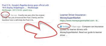 Google Testa Le Pagine Instant Nel Suo Motore Di Ricerca