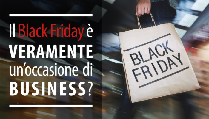 Black Friday: qual'è l'elemento differenziante?