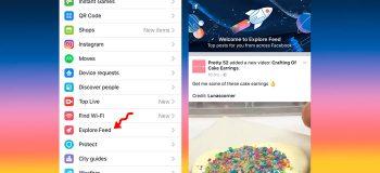 Facebook Lancia L'Explore Feed Su Mobile, Il Test Che Separa Gli Amici Dalle Pagine