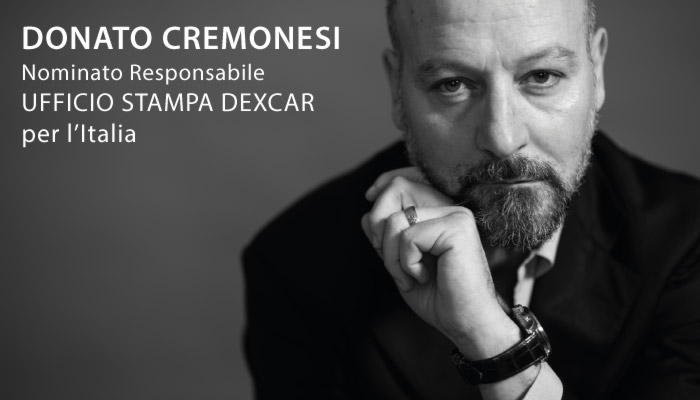 Donato Cremonesi CEO Di Idee E Soluzioni Nominato Responsabile Ufficio Stampa Dexcar Italia