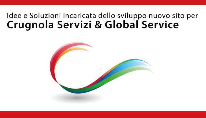 Idee e Soluzioni realizzerà il nuovo sito di Crugnola Servizi