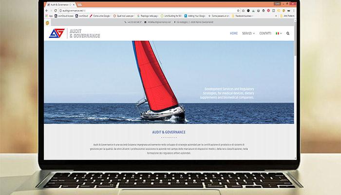 Idee e Soluzioni ha realizzato il nuovo sito web per Audit & Governance