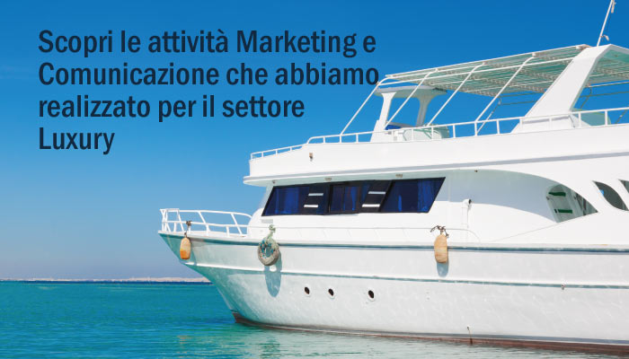 Attivita Marketing E Comunicazione Settore Luxury