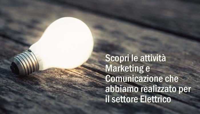 Attivita Marketing E Comunicazione Settore Elettrico