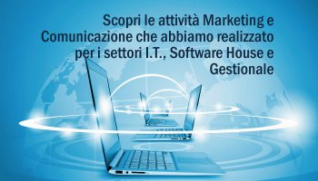 Lavori Settori Software House, Gestionale E IT