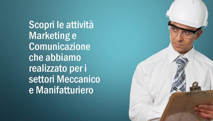 Attivita Marketing E Comunicazione Settori Meccanico E Manifatturiero