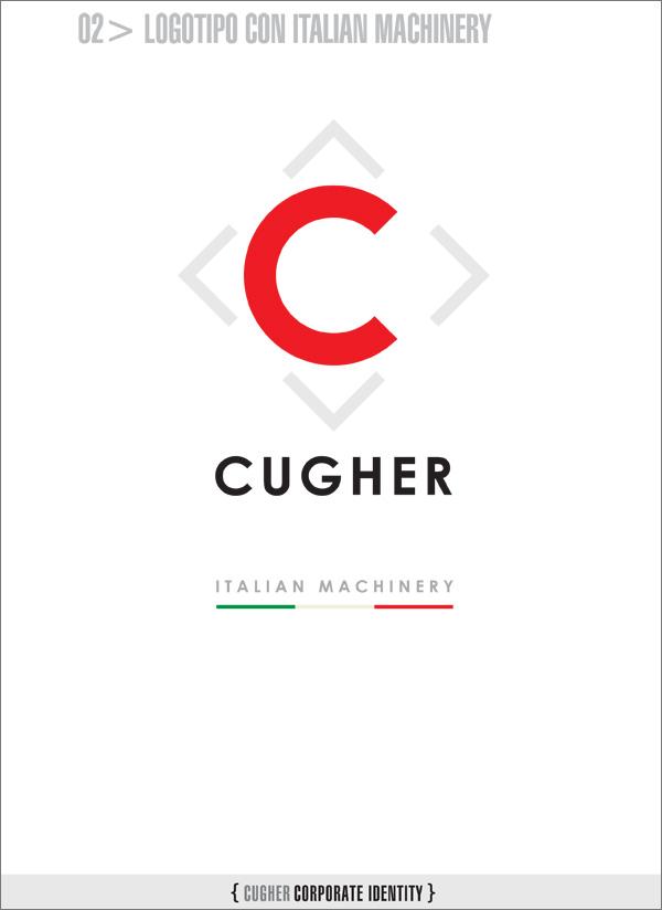 Logotipo con la bandiera italiana