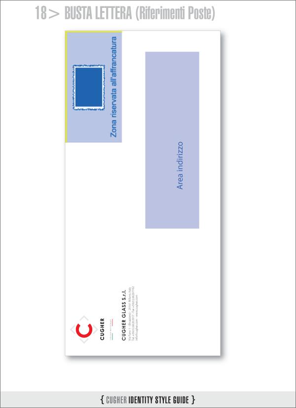 Layout lettera per setup postalizzazione