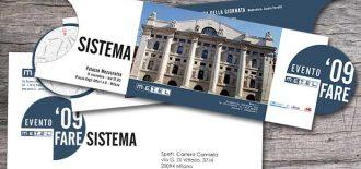 Progetto Grafico Invito Evento Metel 2009