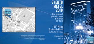 Progetto Grafico Invito Cartaceo Evento Metel 2010