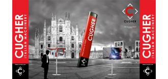 Idee E Soluzioni Progetto Grafico Stand CUGHER Per Fiera Vitrum 2015