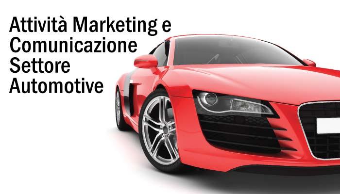 Idee E Soluzioni Attivita Marketing E Comunicazione Settore Automotive