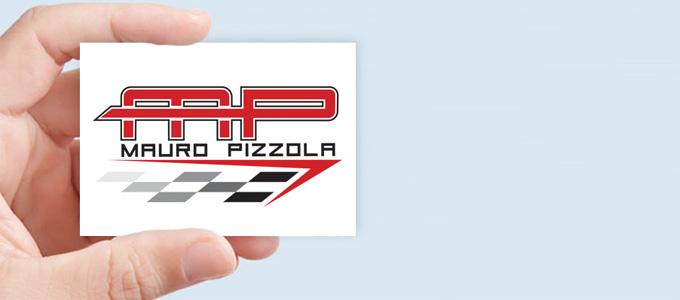 Creazione Logo Per Il Pilota Mauro Pizzola