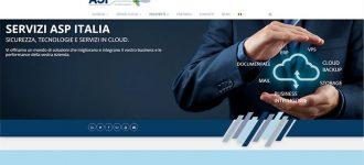 Idee E Soluzioni Ha Realizzato Il Nuovo Sito Internet Aziendale Della Società ASP-Italia