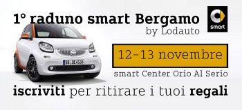 Idee E Soluzioni Ha Realizzato Le Attività Di Comunicazione Di Lodauto Per Il Primo Raduno Smart Di Bergamo