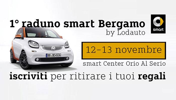 Idee E Soluzioni Ha Realizzato Le Attivita Di Comunicazione Primo Raduno Smart Di Bergamo