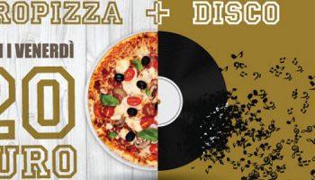 Realizzazione Flyer Giropizza E Disco Per Tourlé La Pizzeria