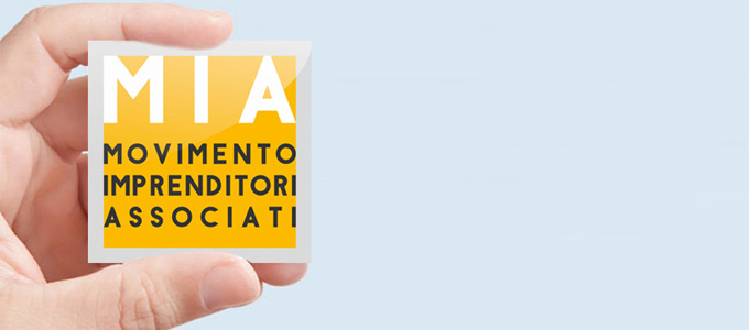 Idee E Soluzioni Ha Realizzato Il Logo Di MIA, Movimento Imprenditori Associati