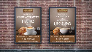 Idee E Soluzioni Realizza I Manifesti Per Falconieri L'Arte Pasticcera Dal 1989