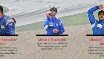 Sito Web Settore Racing Per Il Pilota Mauro Pizzola