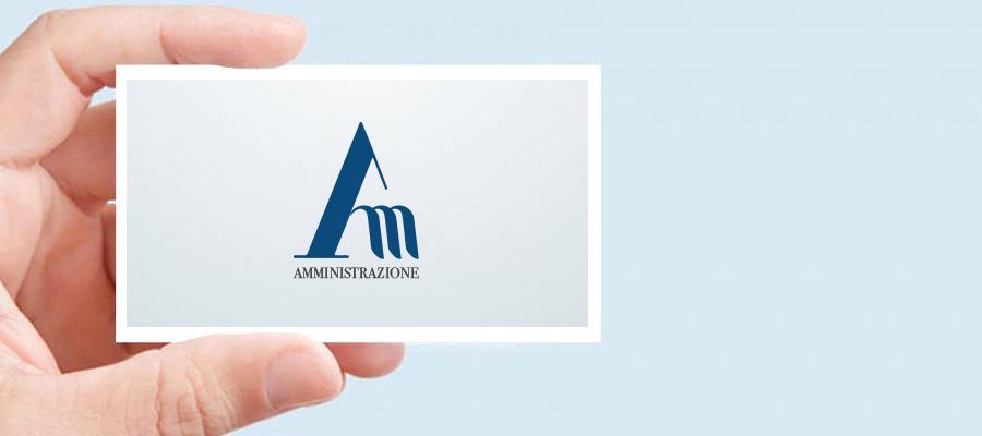 Progetto Grafico Logo Per Amministrazione SRL La Società Che Ha Lanciato Sul Mercato Il Servizio Di Consulenza On Demand