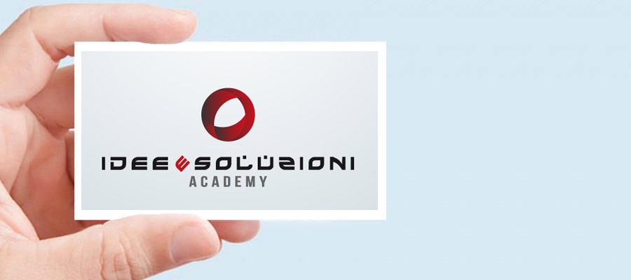 Progettazione Logo Per IES Academy La Divisione Di Idee E Soluzioni Che Si Occupa Di Formazione