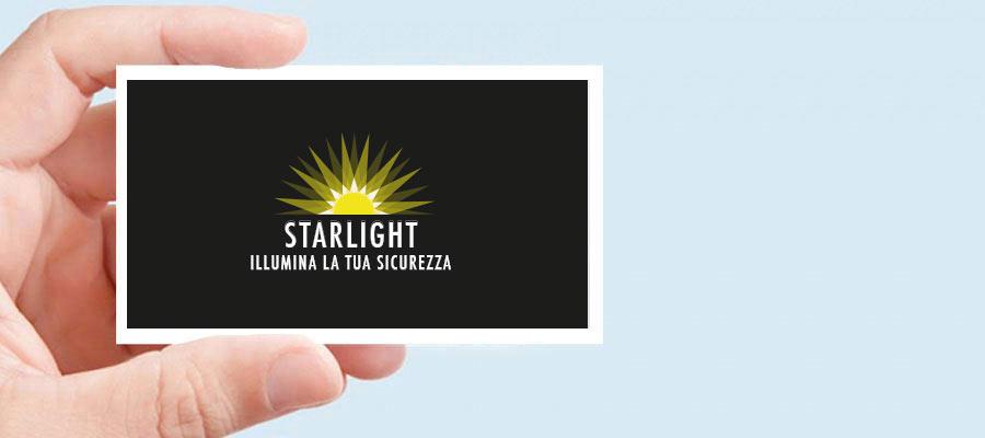 Progetto Grafico Logotipo Per Starlight