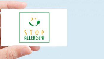 Sviluppo Nuovo Logotipo Per Stop Allergeni