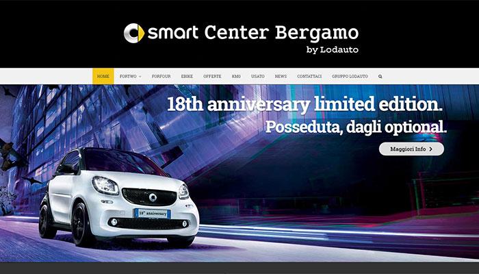 Idee E Soluzioni Realizza Il Nuovo Sito Per Smart Center Bergabo By Lodauto