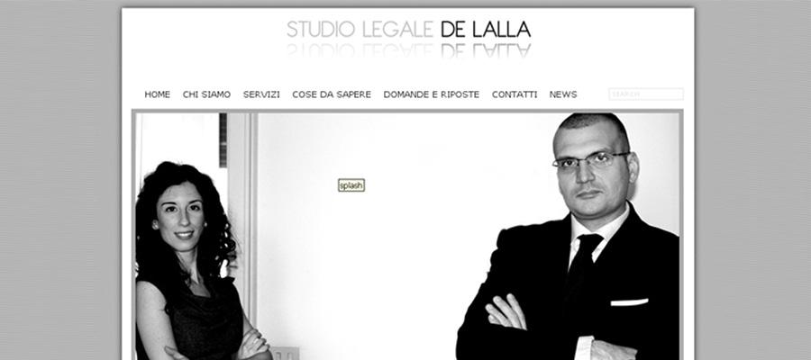Nuovo Sito Settore Legale Studio Legale De Lalla