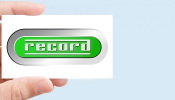 Realizzazione Nuovo Logotipo Per Record SpA