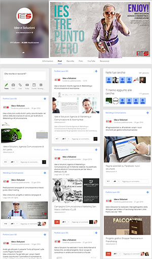 Interfaccia-Google-Plus-Idee-e-Soluzioni-Agenzia-Marketing-e-Comunicazione